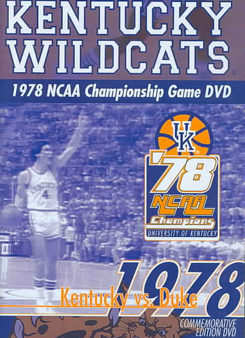 1978 NCAA CHAMPIONSHIP GAME (KENTUCKY (DVD)